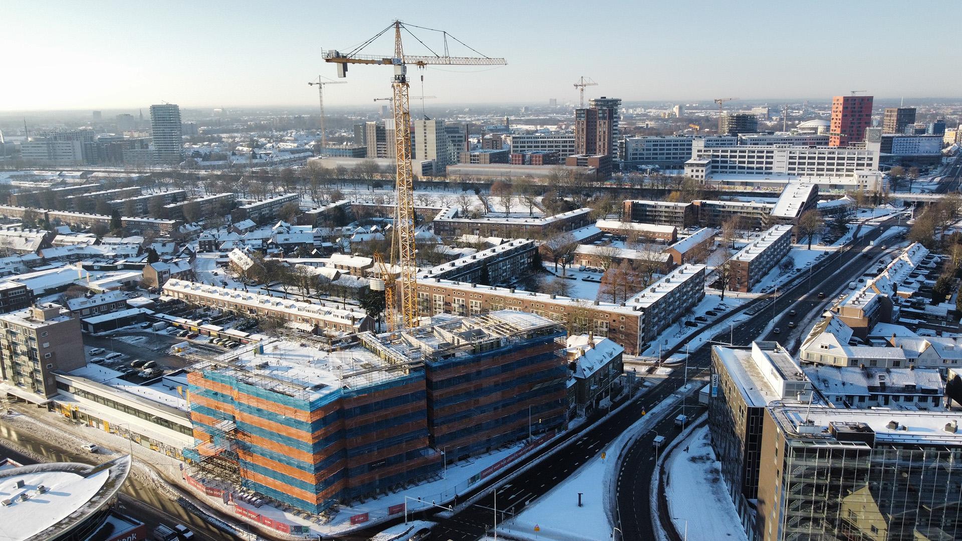 Bouwupdate de Bakermat te Eindhoven