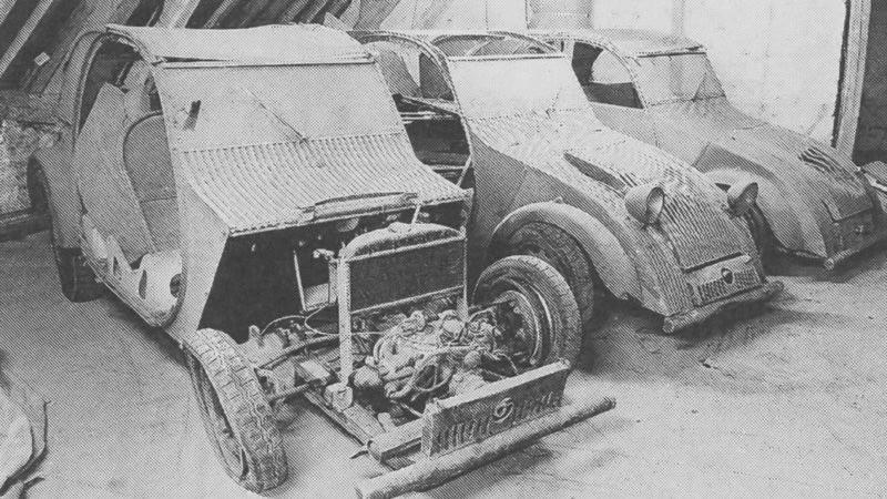 Citroen-2CV-de-eerste-prototypen.