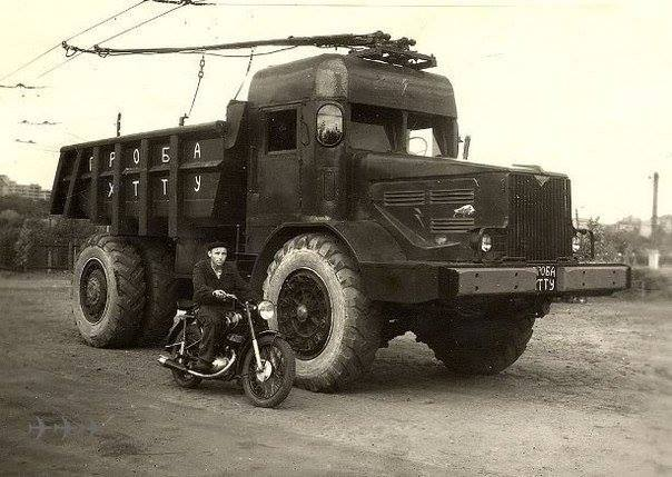 MAZ-525-Electric-Truck