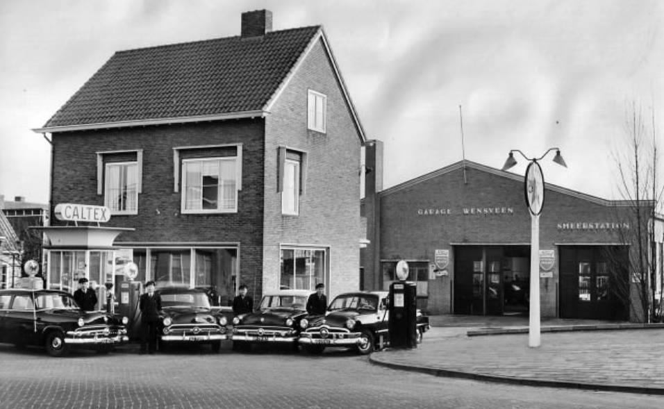 Wensveen-Garage_Taxi-Plantageweg-Alblasserdam-1958