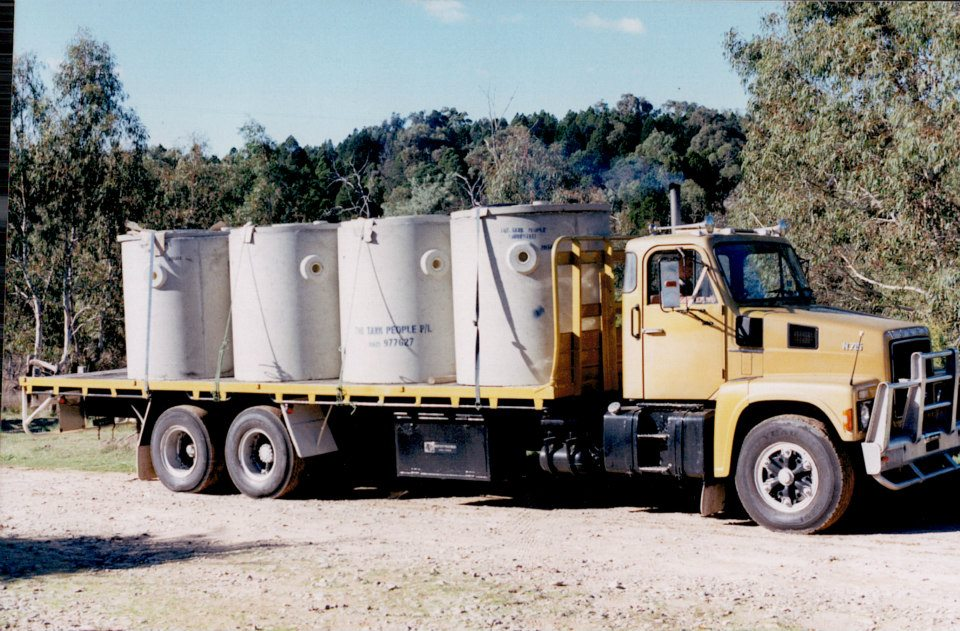 2--Volvo-with-septic-tanks--Bought-the-truck-in-Sydney-and-came-home-with-this-load