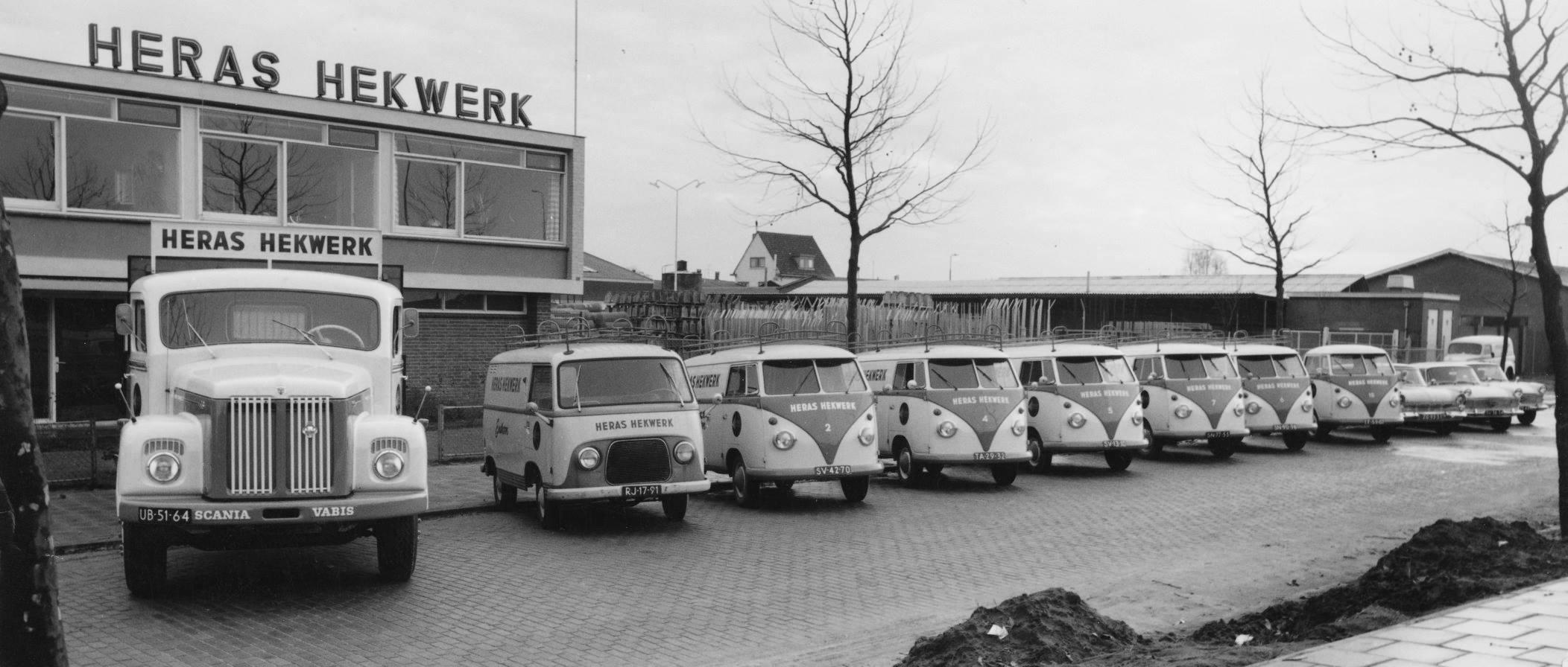 1961-Eindhoven-Jeroen-Boschlaan-Heras-Hekwerk