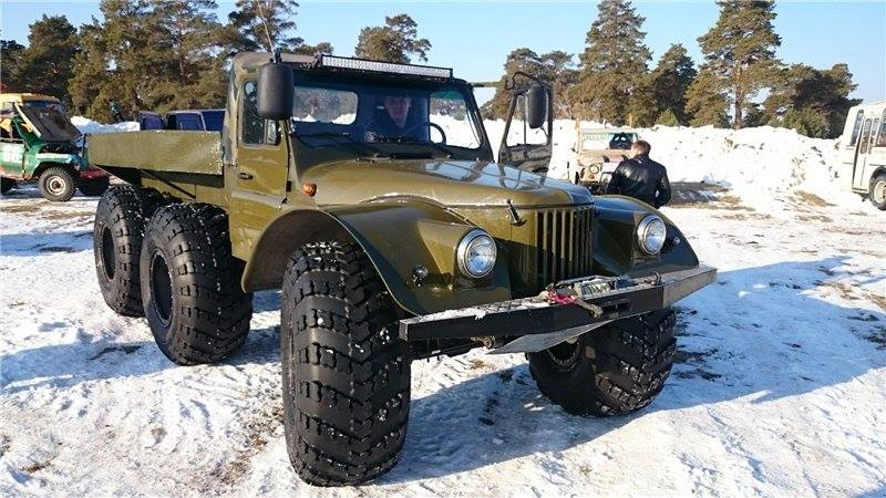 6x6-Amphibious-Truck-based-on-GAZ-69-2