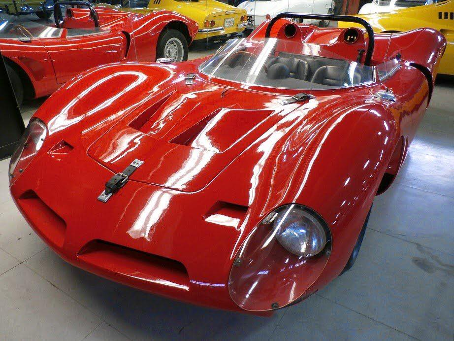 Bizzarini-P-538-Spyder---1960