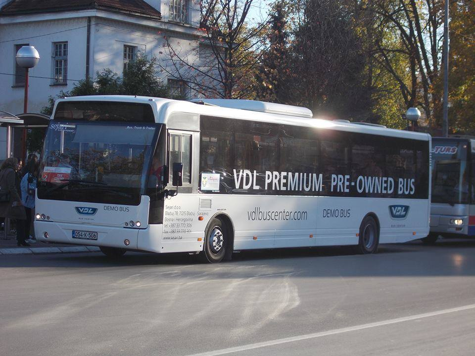 VDL-Berkhof-Ambassador-200-as-Demo-Test-bus-in-Banja-Luka-6-11-2017