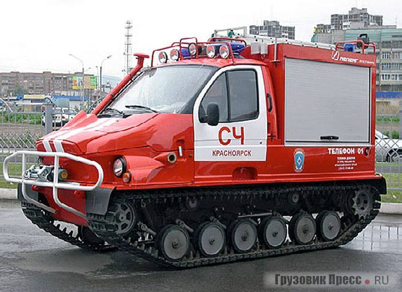 GAZ-3409-Amphibious-Tracked-Vehicle