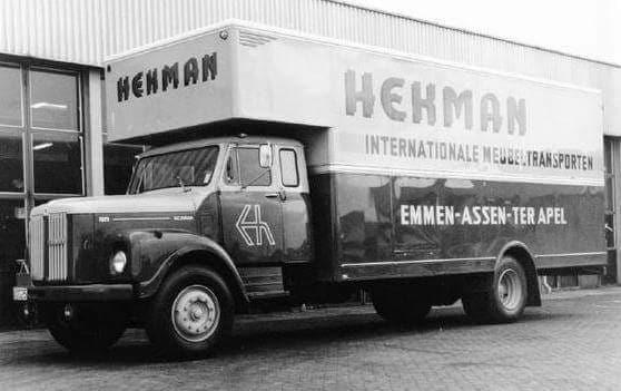 Scania-Vabis-verhuiswagen