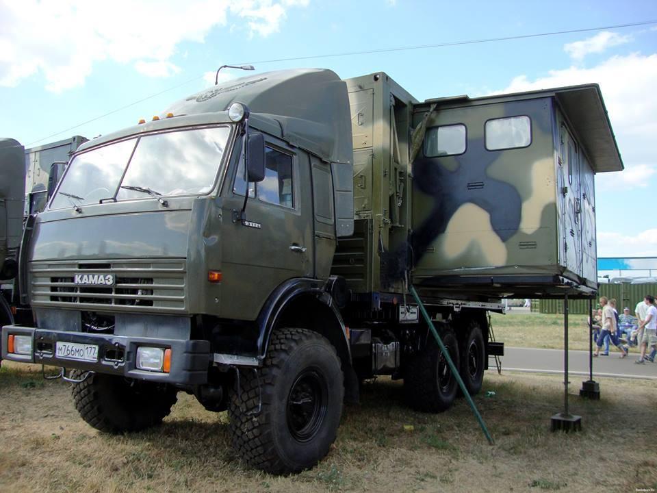 Kamaz-Camper-6X6