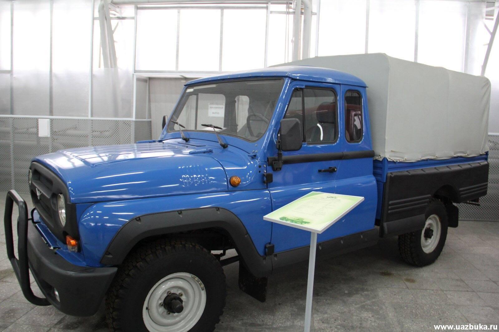 UAZ-4x4-Pickup