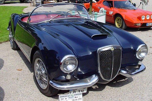 Lancia-Aurelia-B24-S-Spider-America-1st-Series--1953