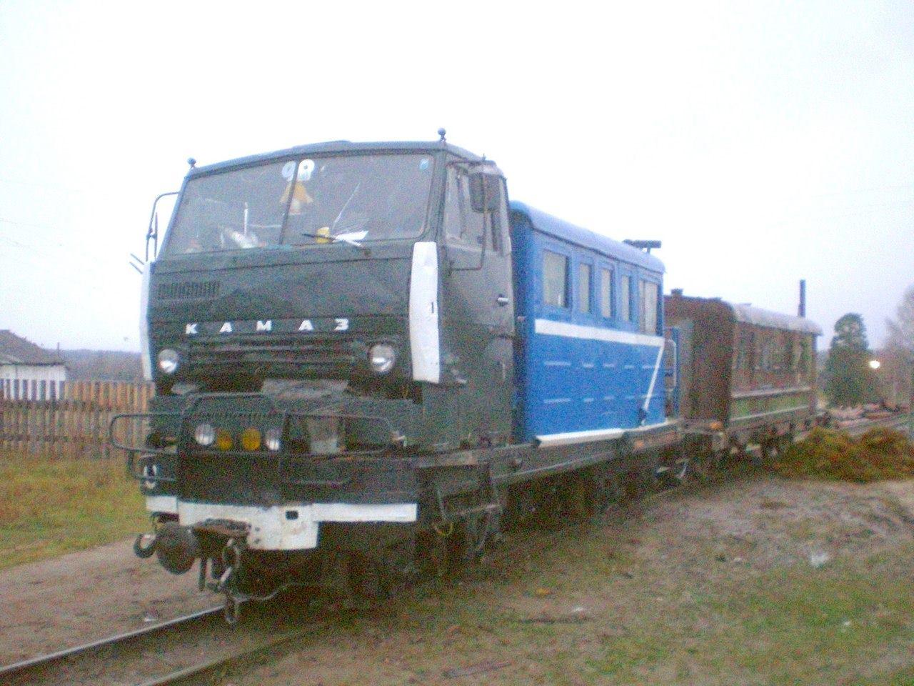 KAMAZ-Cab-Train