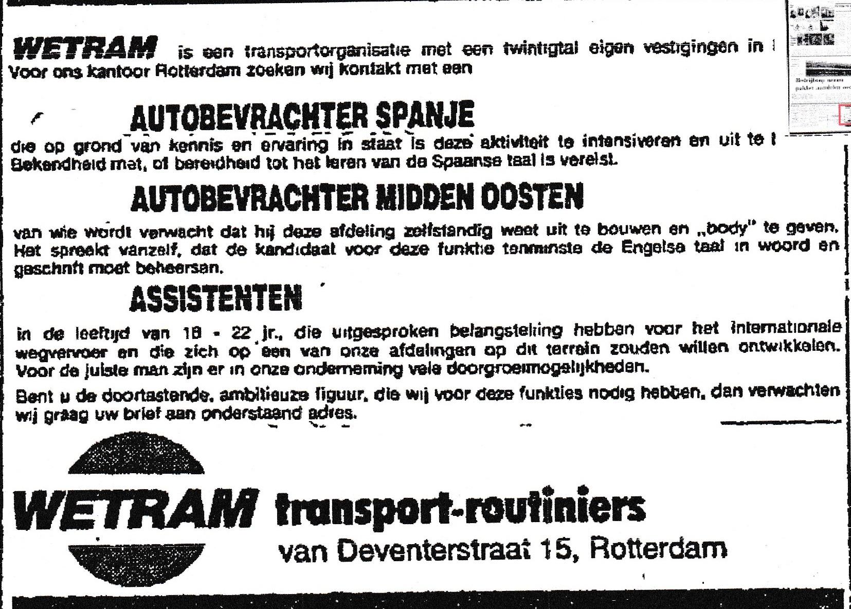 Advertentie-WETRAM-1975