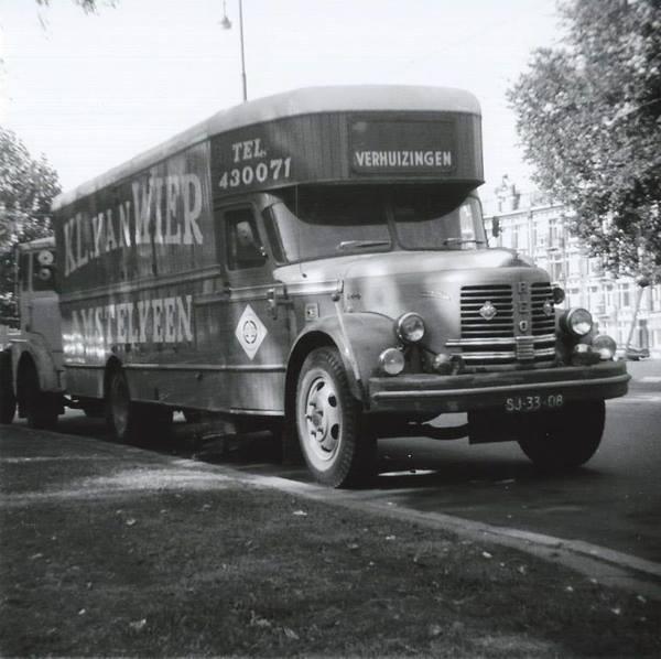 Reo-verhuiswagen