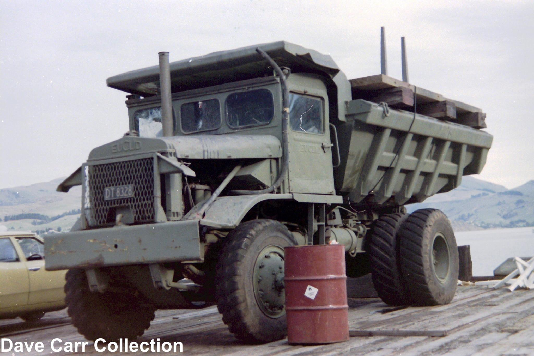 Euclid-Dump-truck-at-Lyttelton-Port-DT8328--Australia