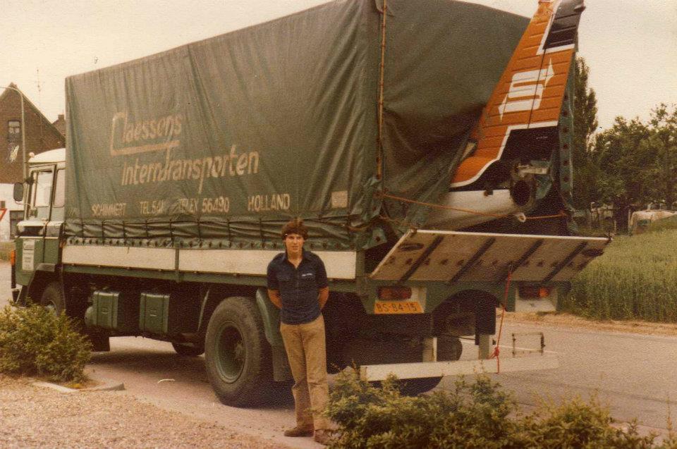 Louis-God--Daf-2600-omstreeks-1977-terug-brengen-naar-schiphol