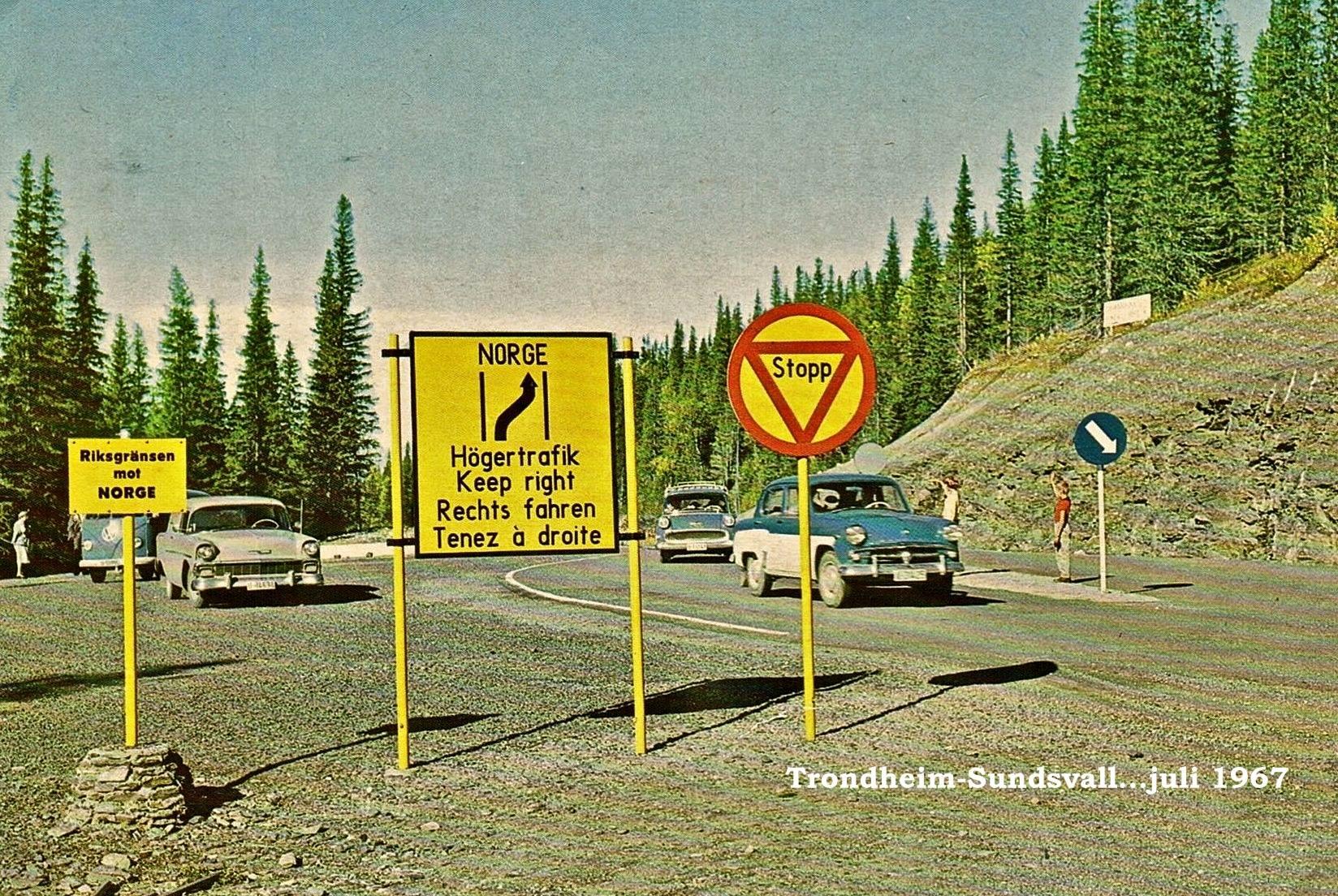 1967-Noorwegen-Zweden