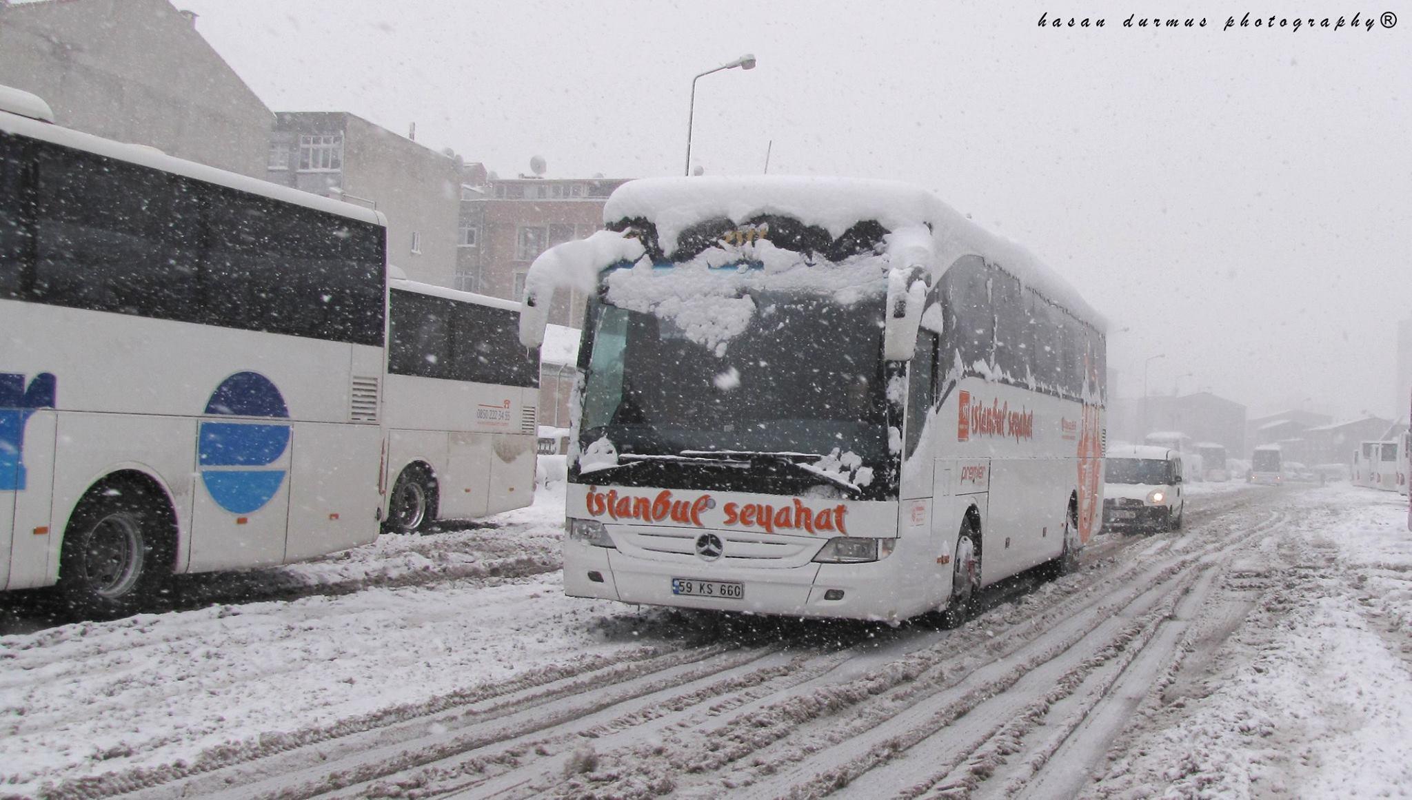 Busbahnhof-Istanbul