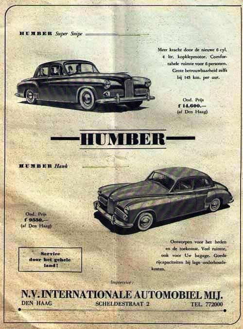 humber-1954