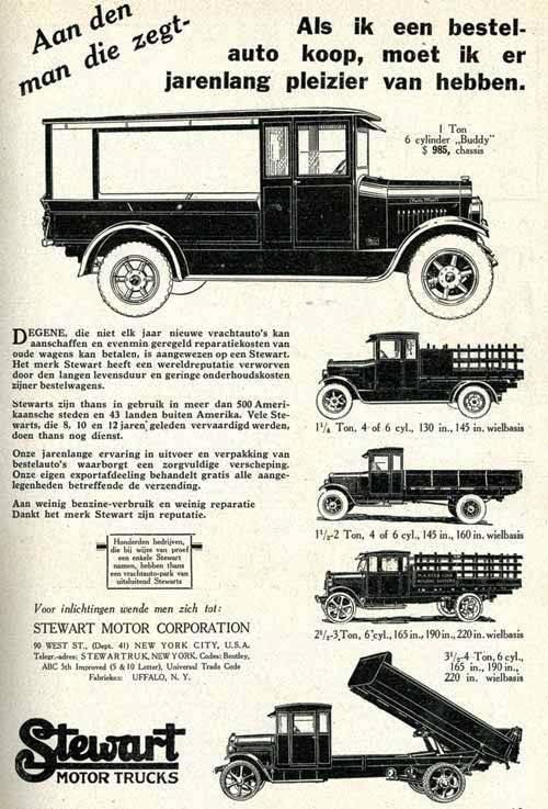 Stewart-vrachtwagen