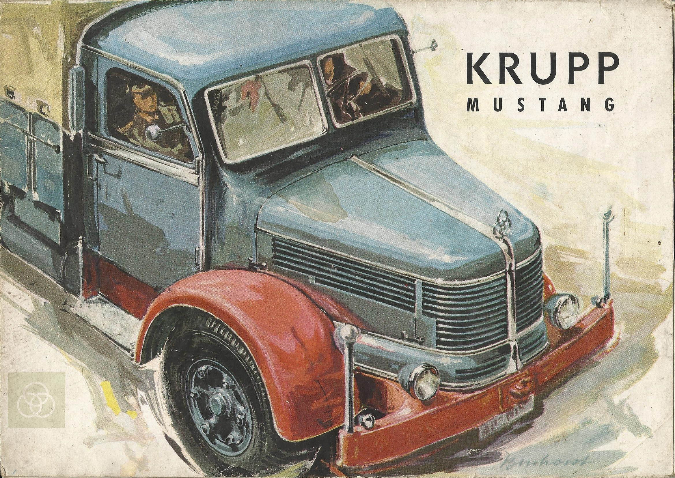 Krupp-folder-tekening
