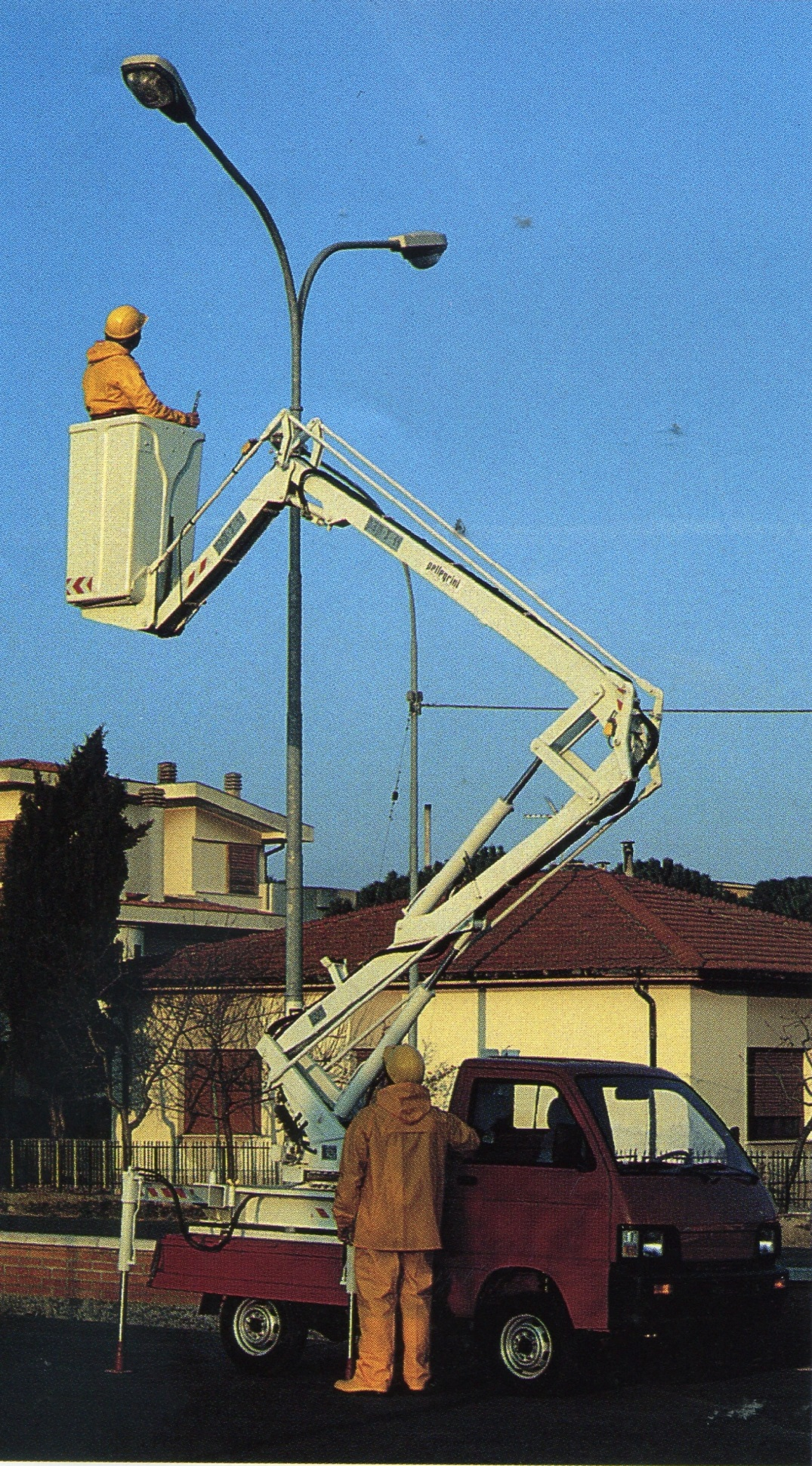 Aerial-Platformwagen