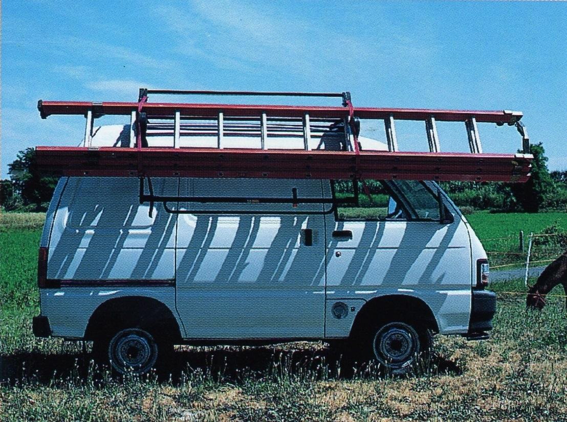 Zij-ladderwagen