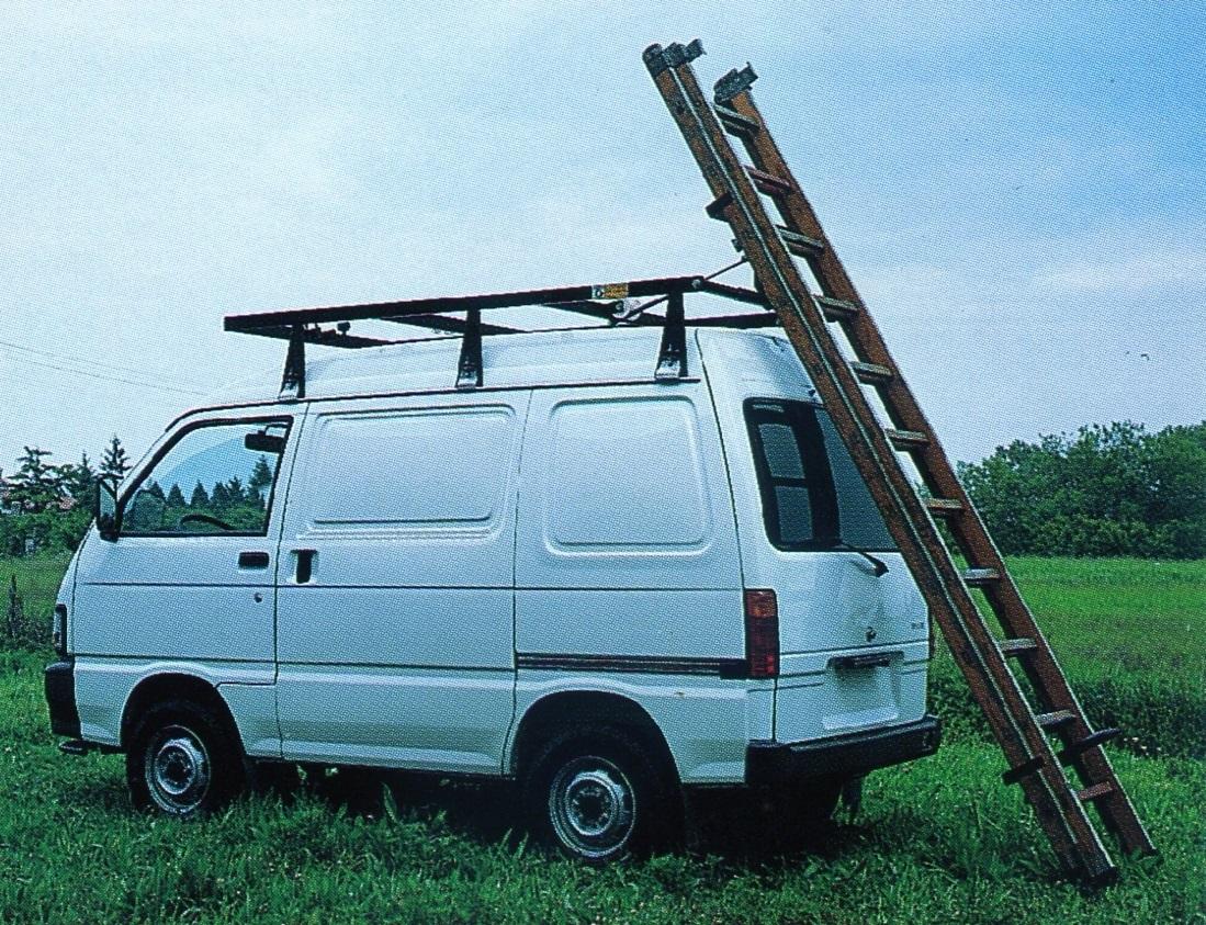 ladder-bestelwagen