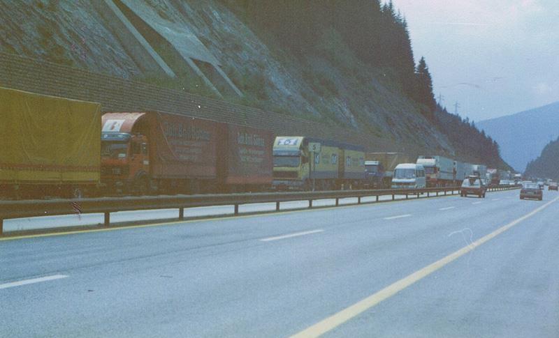 1987-Brenner-stau-A-22-zwischen-Vipteno---Brennero