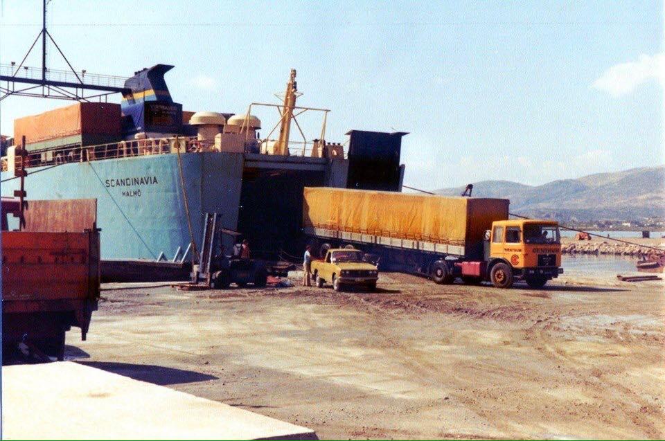 Ferry-boot-verlaten