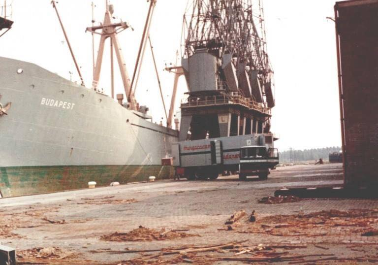 scheepsproviand-lossen