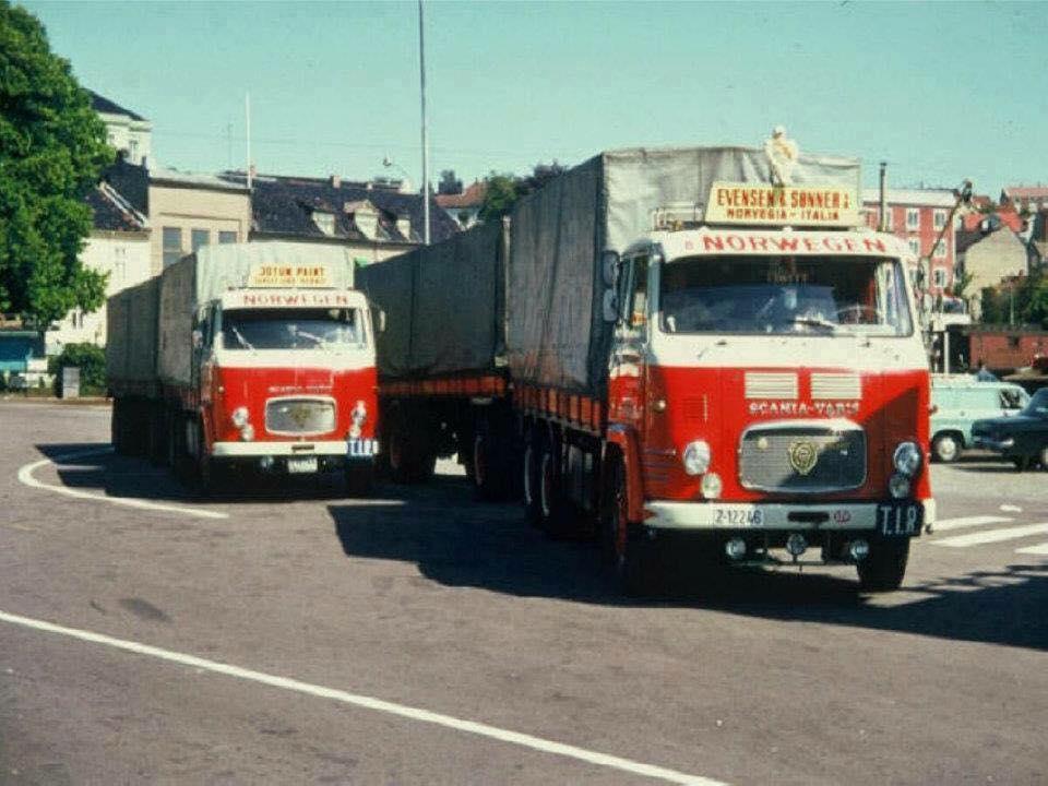 Scania-Vabis-Norwegen