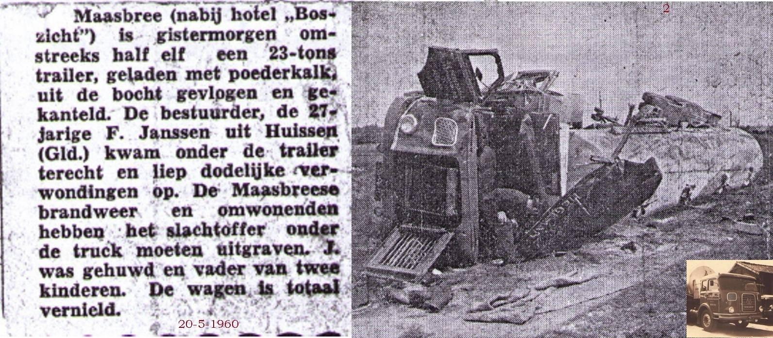 zwarte-dag-20-5-1960-Wim-Janssen-uit-Huizen-27-jaar-oud-in-Maasbree-met-de-Krupp