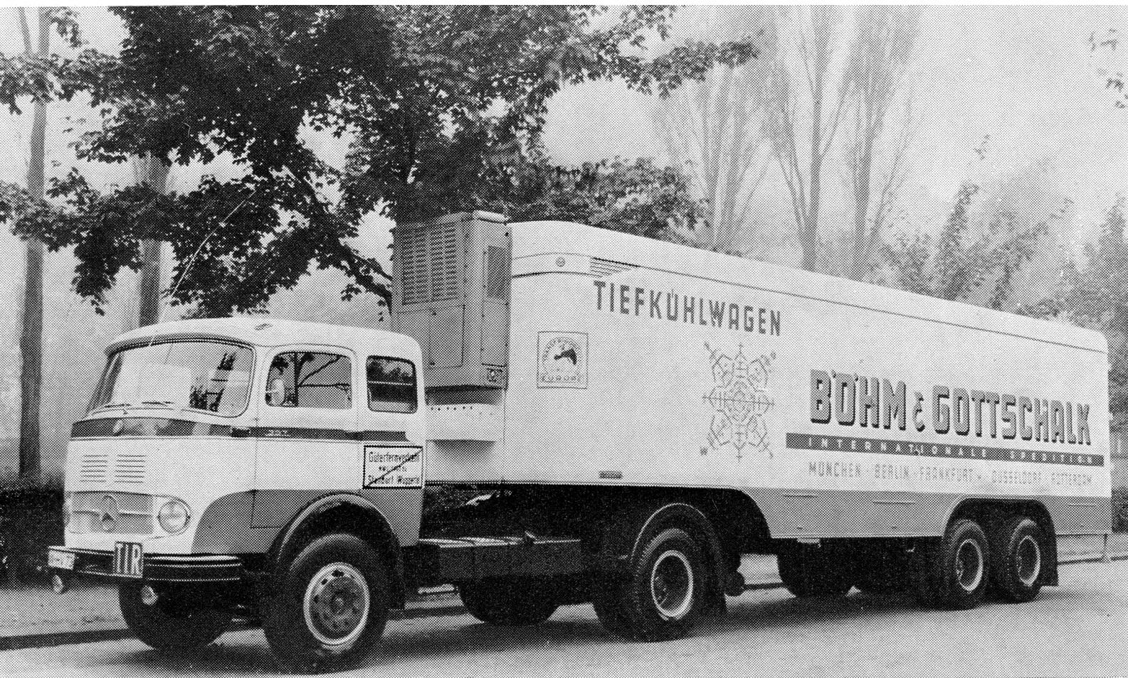 Mercedes-koelwagen