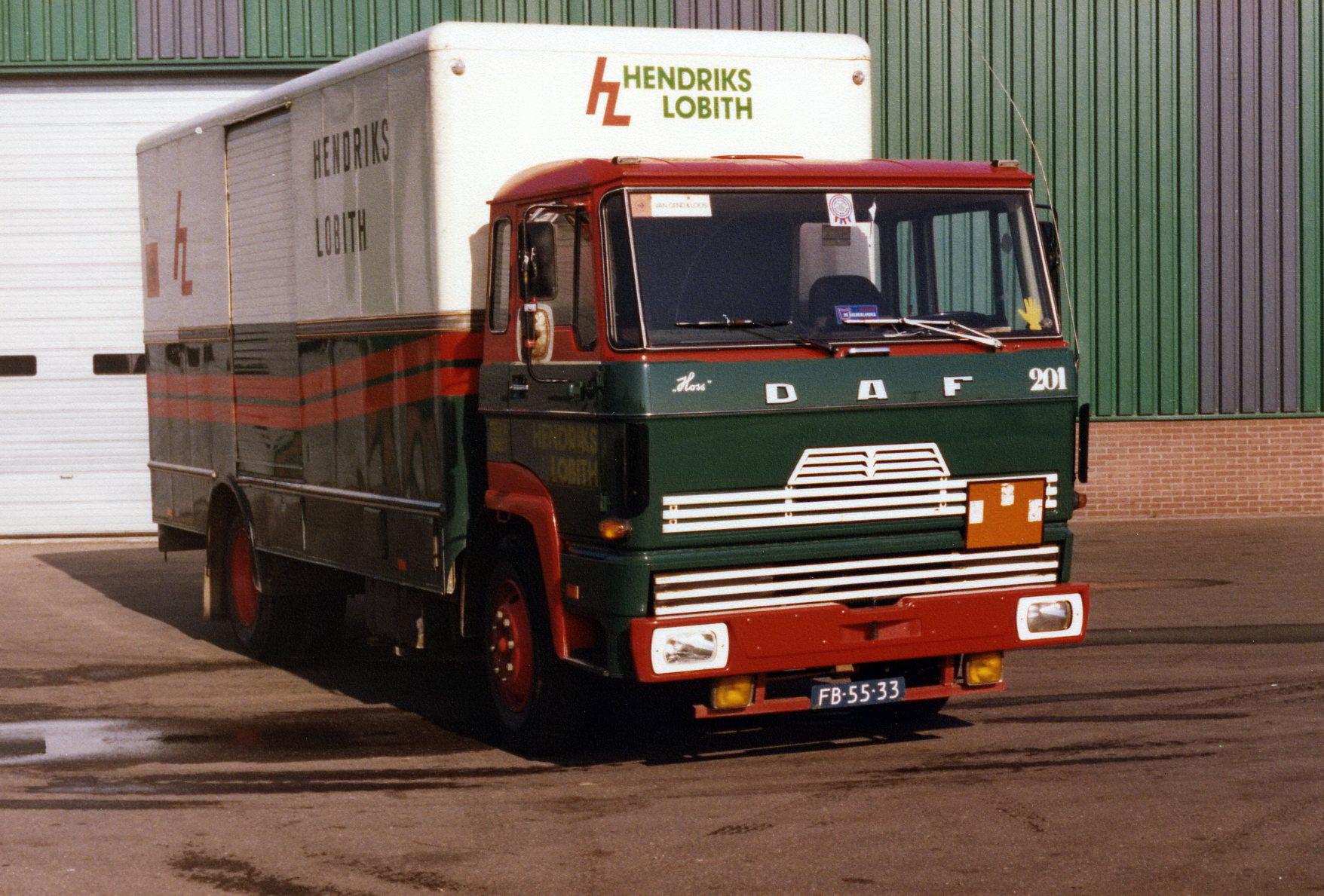 Hendriks-Lobith-DAF-FA1600-FB5533