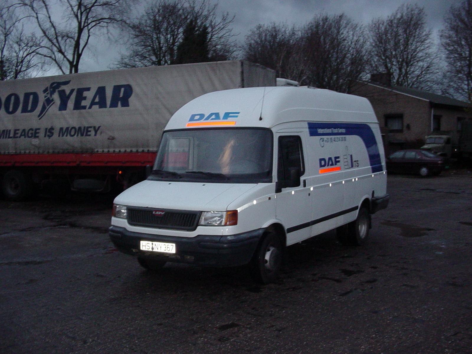 DAF-services-wagen