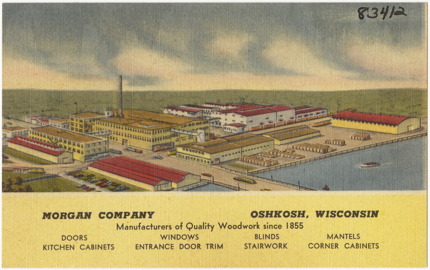 Morgan-Company-Oshkosh-Wisconsin-manufacturers-of-quality-woodwork-since-1855