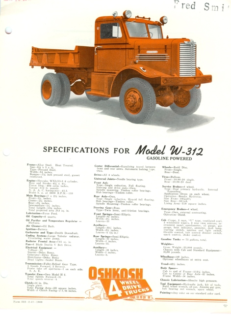 Oshkosh-truck-Model-W-312