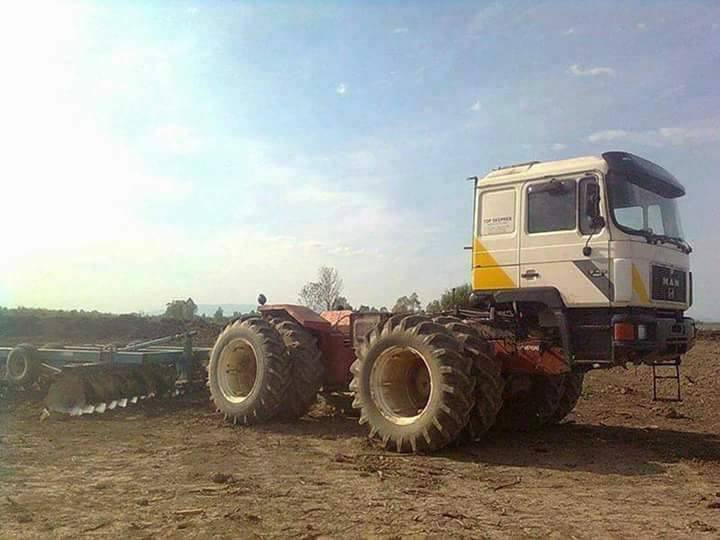MAN-Traktor