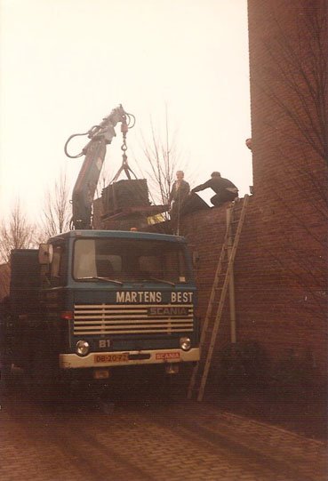 Scania-kraanwagen