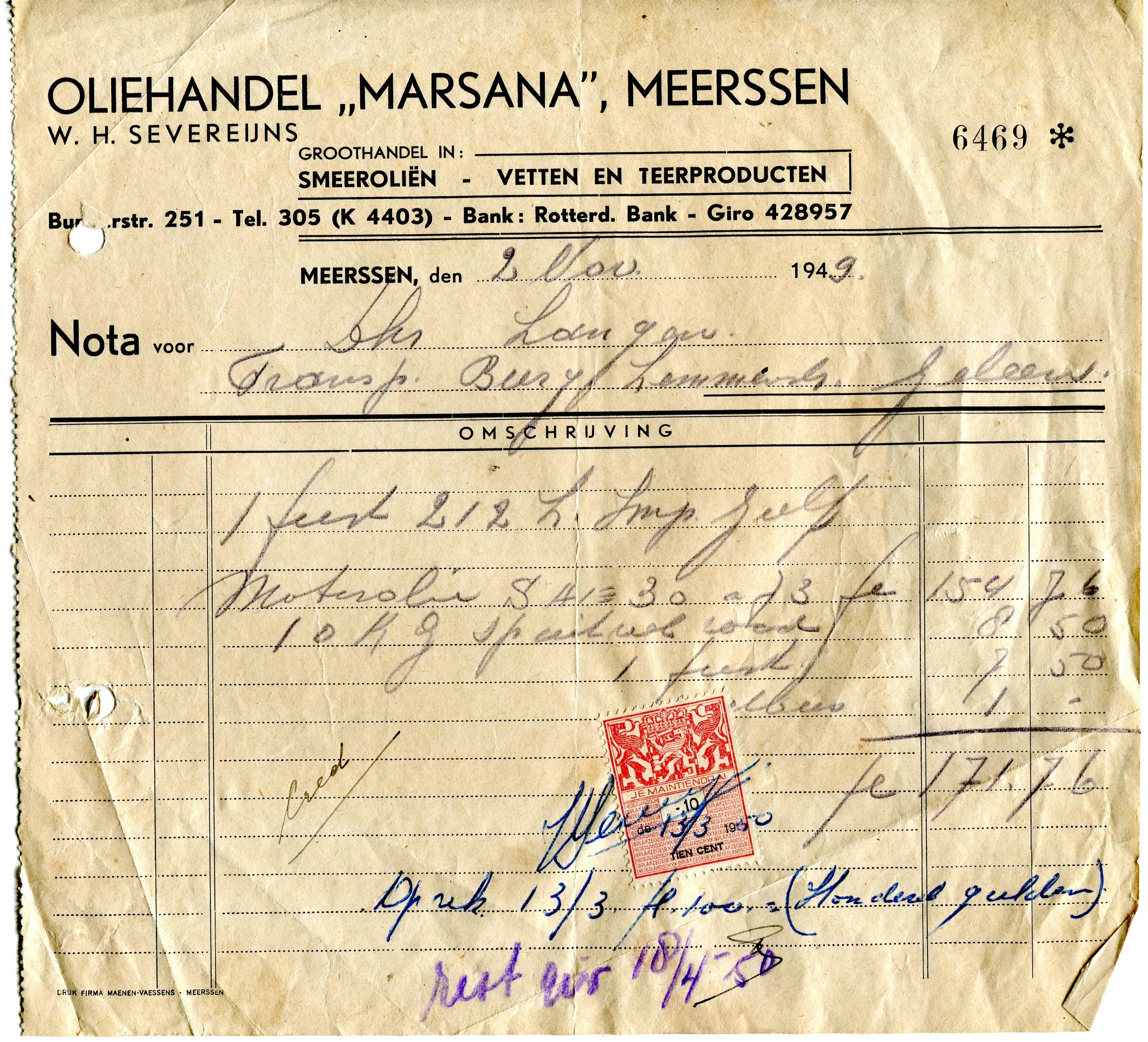 1949-olie