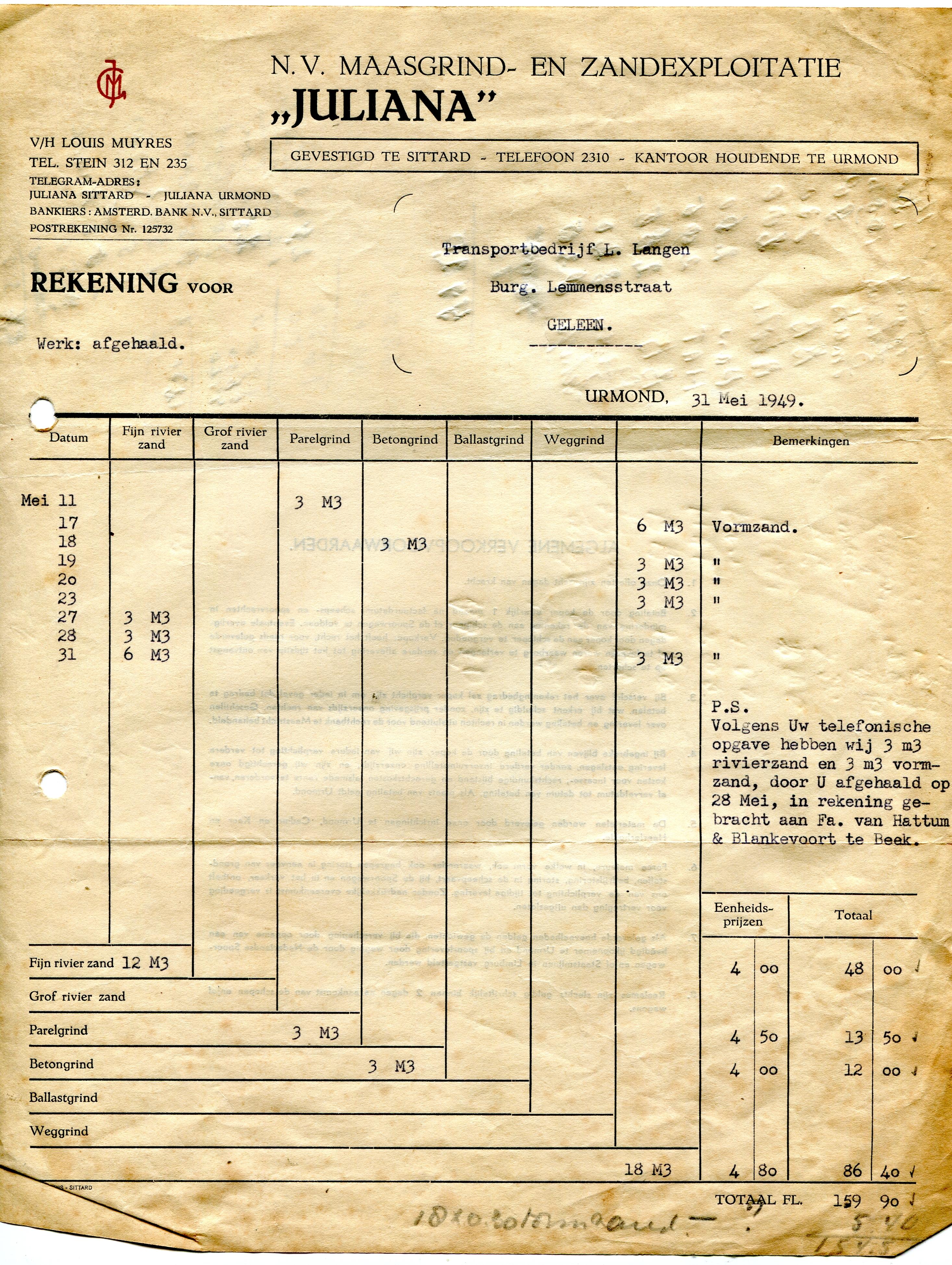 1949-Factuur-Juliana