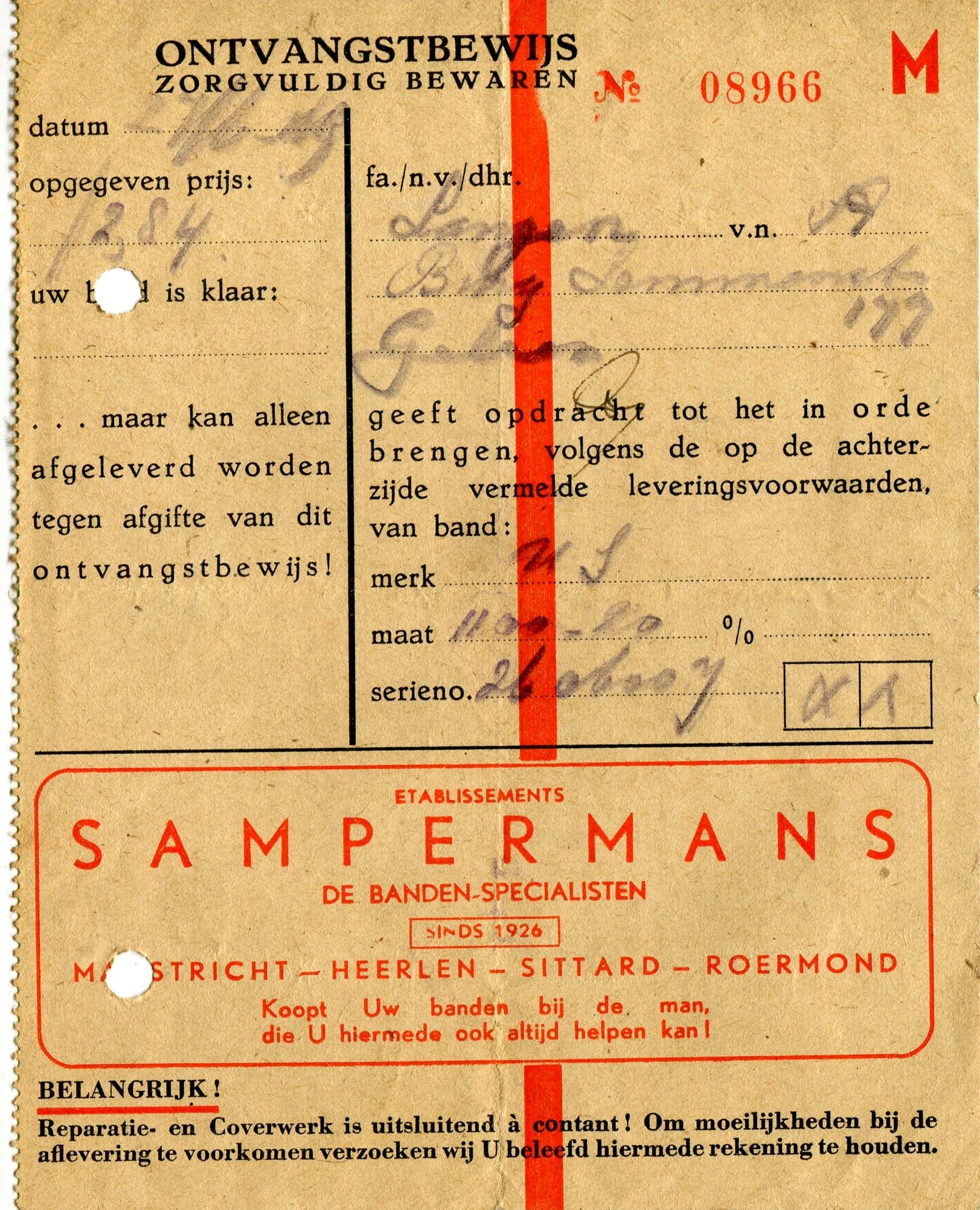 1950-Sampermans-banden