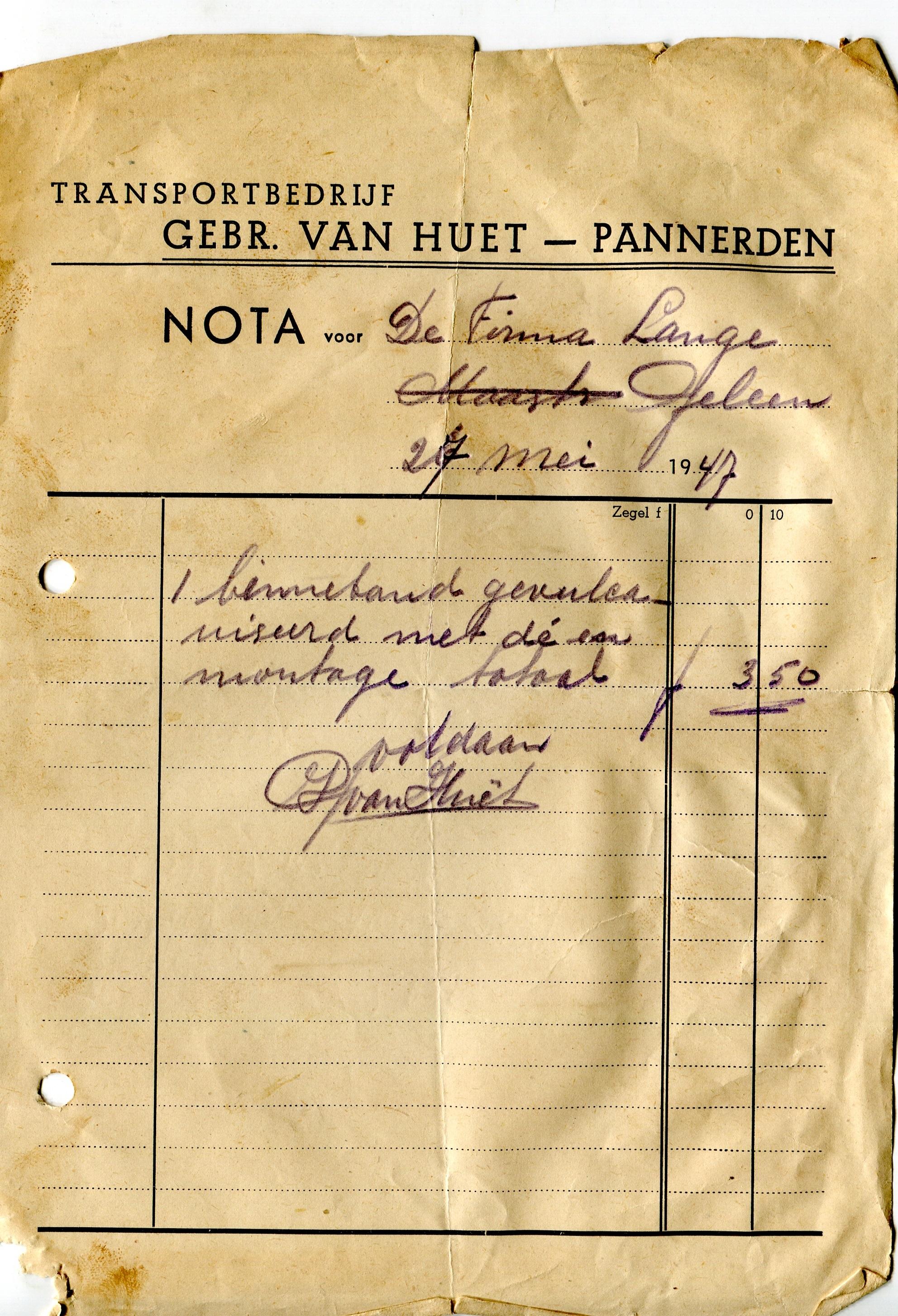 1947--Binnenband--gevulcaniseerd-in-Pannerden