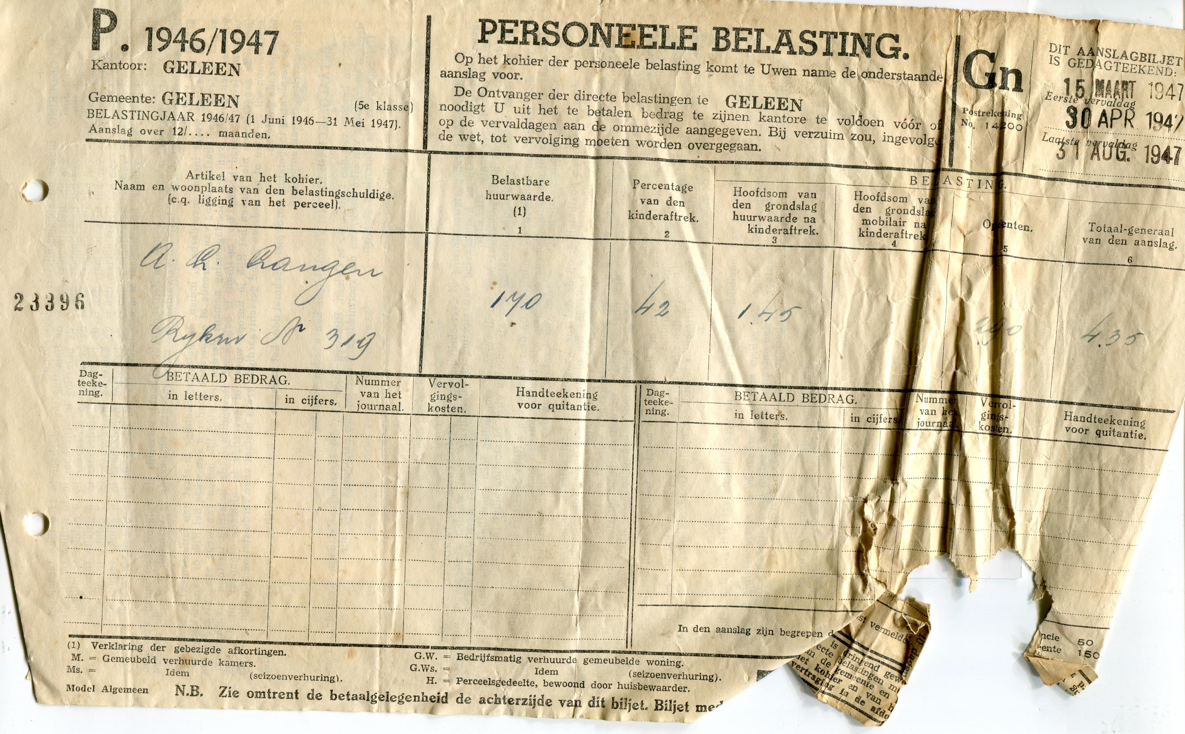 1947--Personele-belasting