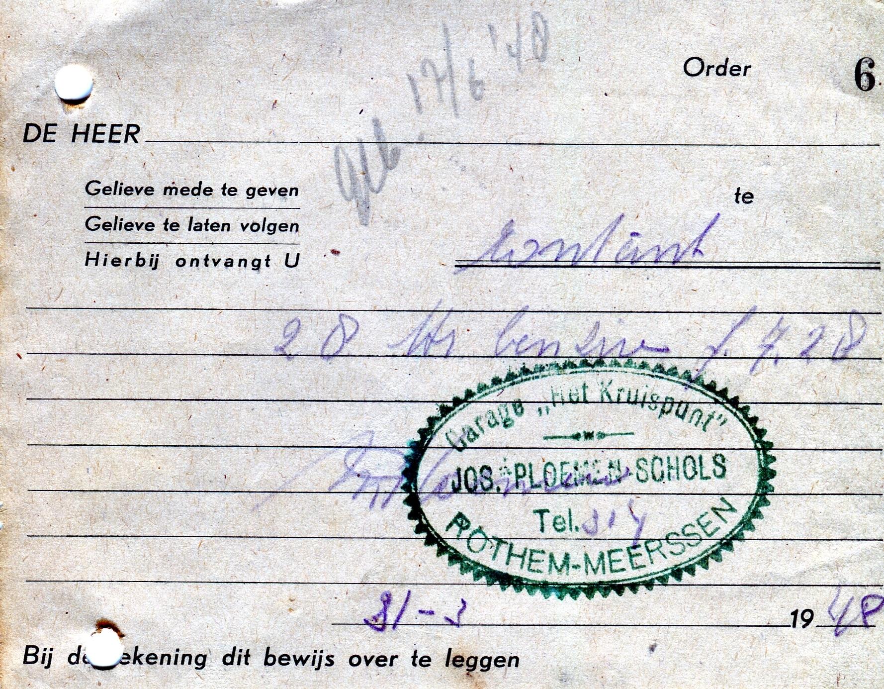 1948-Brandstof
