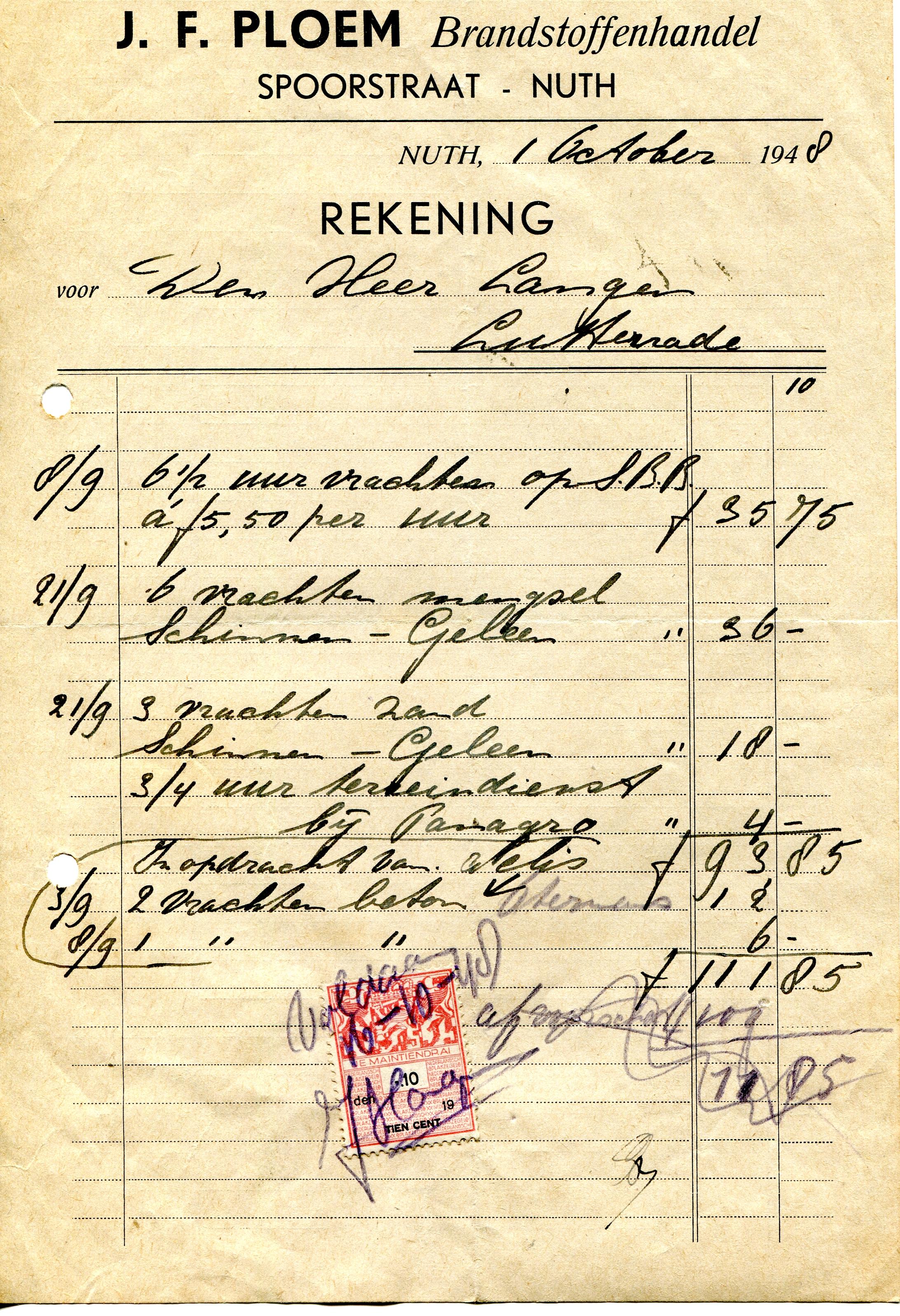 1948-Ploem-brandstofhandel