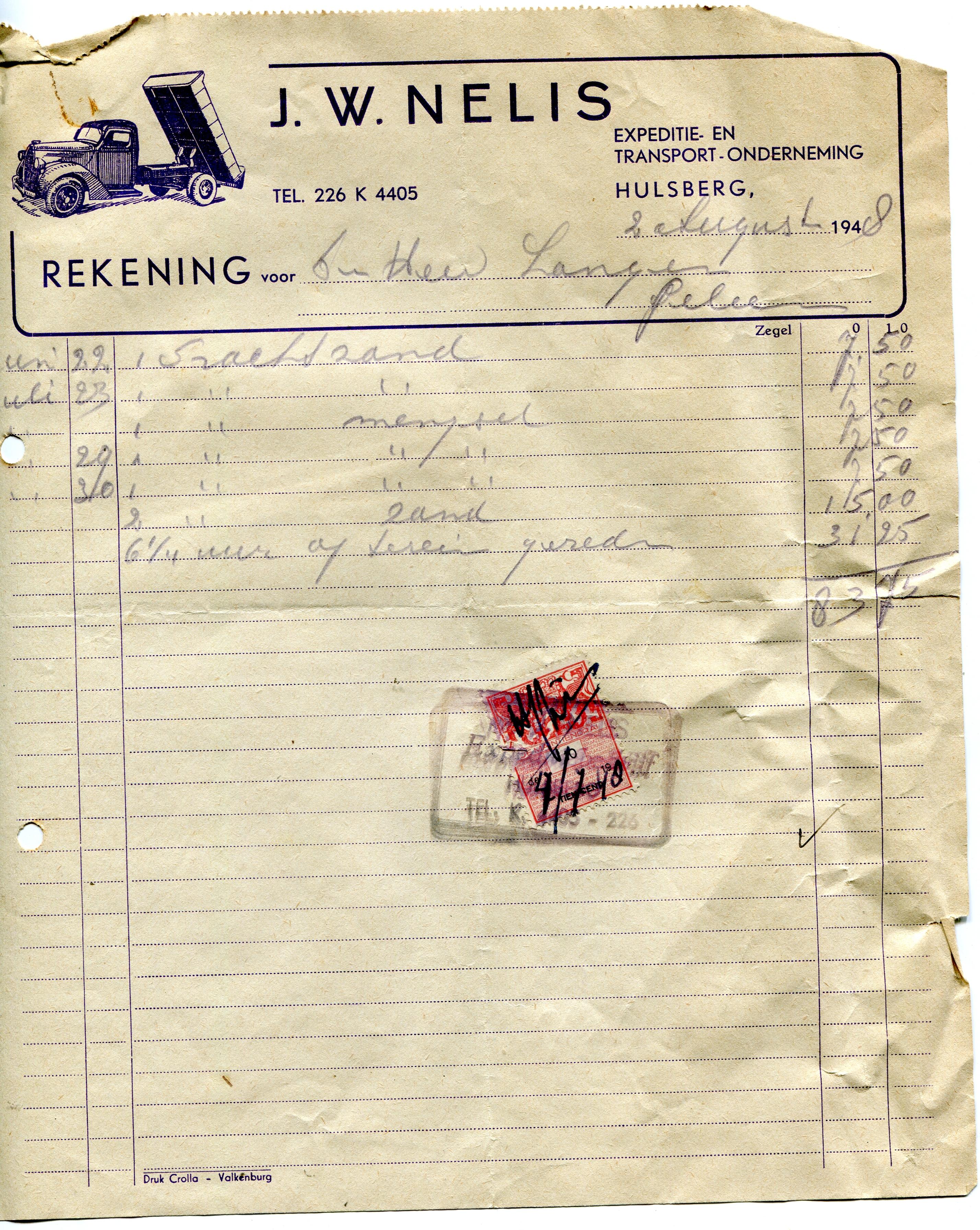 1948-charter-Nelis-Hulsberg