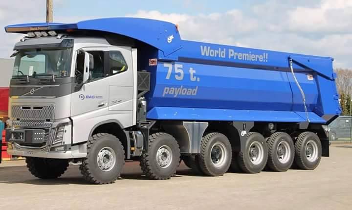 Volvo-Dumper