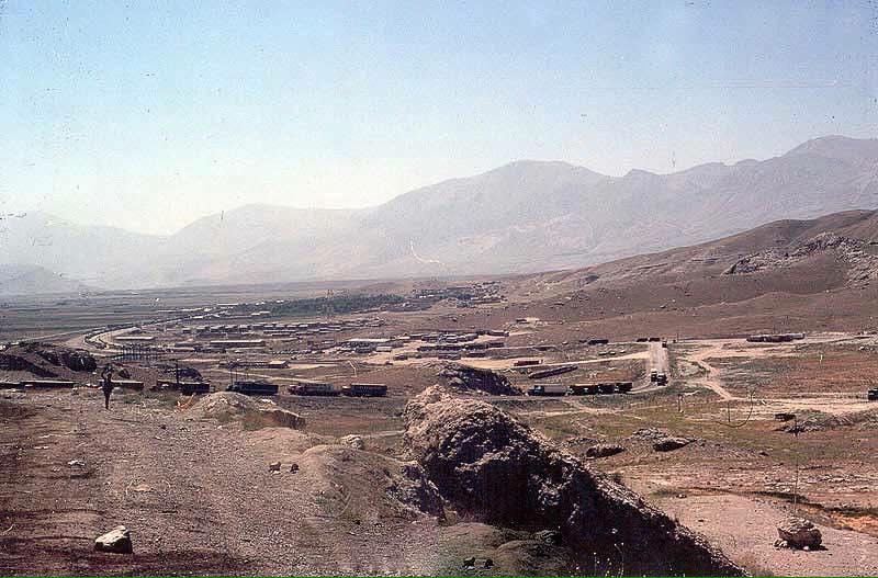 Bazargan-Grens-Iran-Turkije