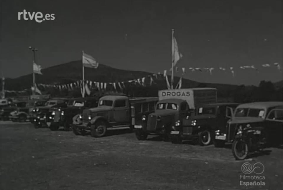 Feria-automovil-Pontevedra-julio-1950